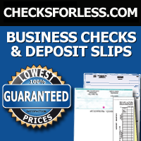 Business Checks for Less