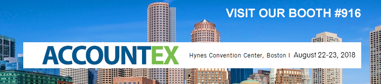 Visit Our Booth #213 at Accountex